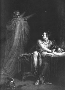Brutus and the Ghost of Caesar - Edward Scriven, 1802 (CC-sa-by/2.0)
