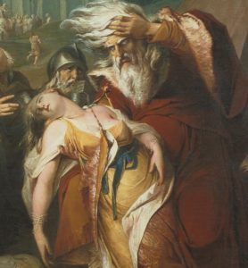 King Lear Weeping over Cordelia's body - James Barry 1786 (CC-sa-by/2.0)