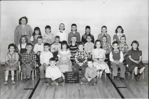 Kenneth Adams in the second grade at Concord Elementary in 1956.
