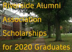 2020 Scholarship Recipients from the Alumni Association