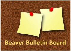 Beaver Bulletin Board Spring 2021